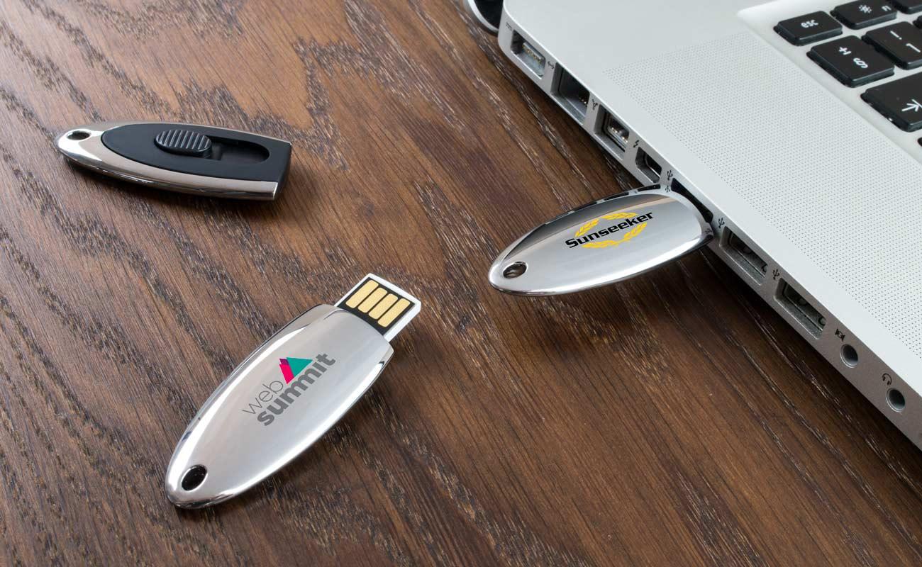 Ellipse - Clé USB Personnalisée
