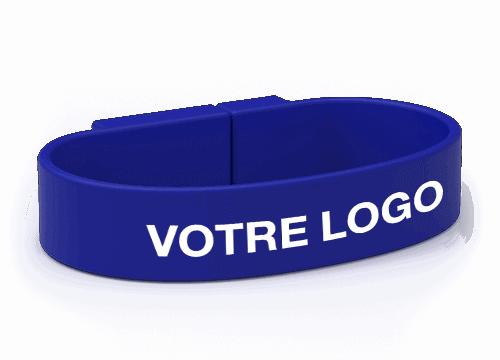 Lizzard - Bracelet USB Personnalisable