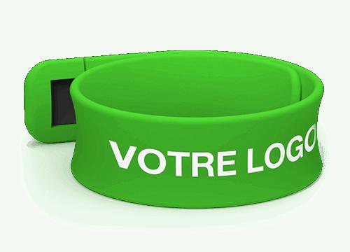 Slap - Bracelets Personnalisés Silicone