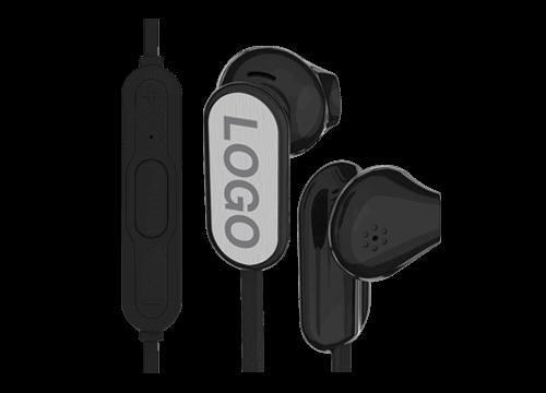 Peak - Écouteurs Bluetooth Publicitaires