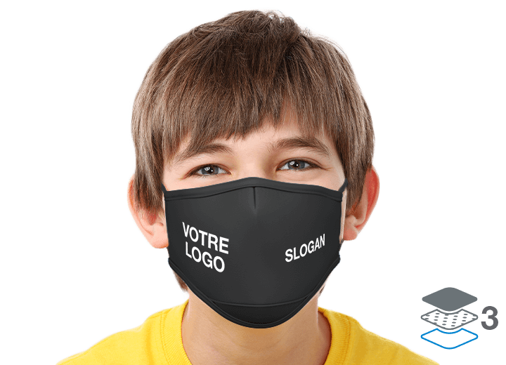 Junior - Masques avec logo