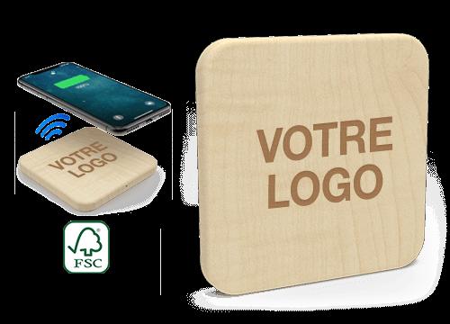 Forest - Chargeur Sans Fil Personnalisable Pas Cher