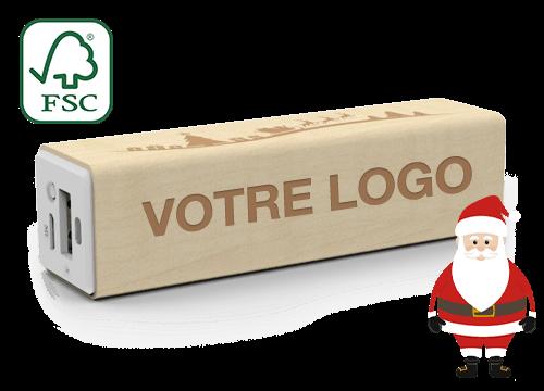 Maple Christmas - Batterie Portable Personnalisable