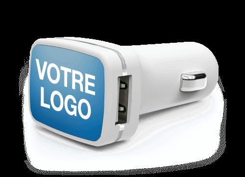 Vista - Adaptateur USB Voiture Personnalise