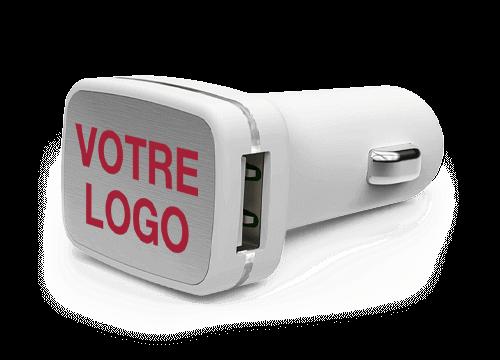 Zip - Adaptateurs USB Voiture Personnalisés
