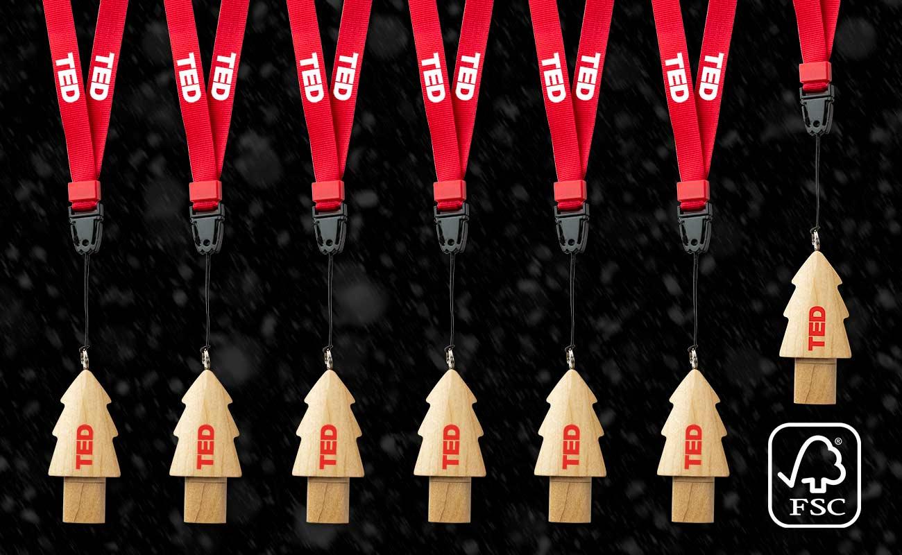 Christmas - Clé USB Personnalisée