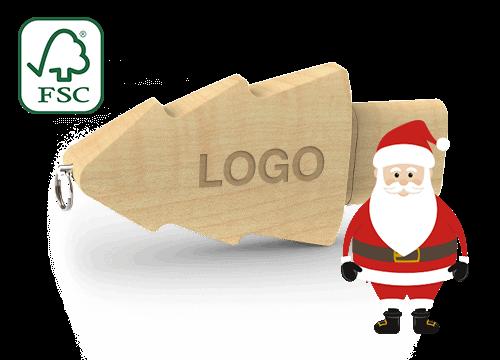 Christmas - Clé USB Personnalisable