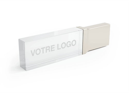 Crystal - Clé USB Promotionnelle