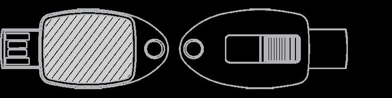 Clé USB Impression photo