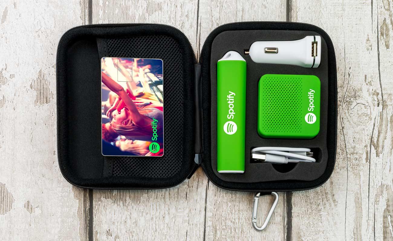 Impact L - Clé USB Personnalisée, Batterie Externe Personnalisée, Custom Car Charger et Enceinte Professionnel
