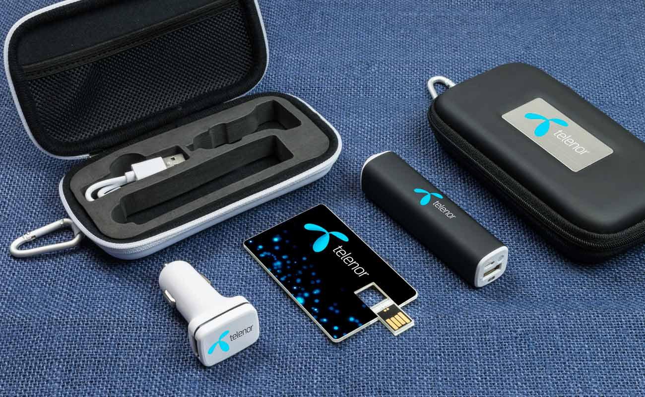 Impact M - Clé USB Personnalisée, Batterie Externe Personnalisée et Custom Car Charger