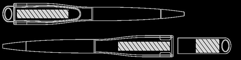 Stylo USB Sérigraphie