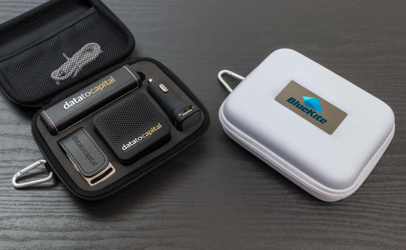 Leather L - Clé USB Personnalisée, Batterie Externe Personnalisée, Custom Car Charger et Enceinte Professionnel