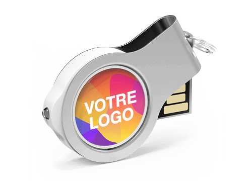 Light - Clé USB Promotionnelle