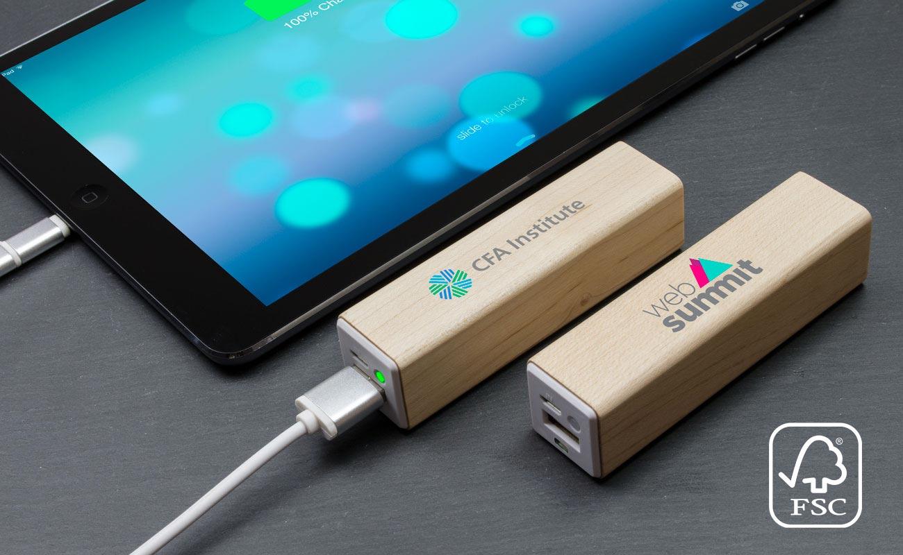 Maple - Batterie Externe Personnalisée