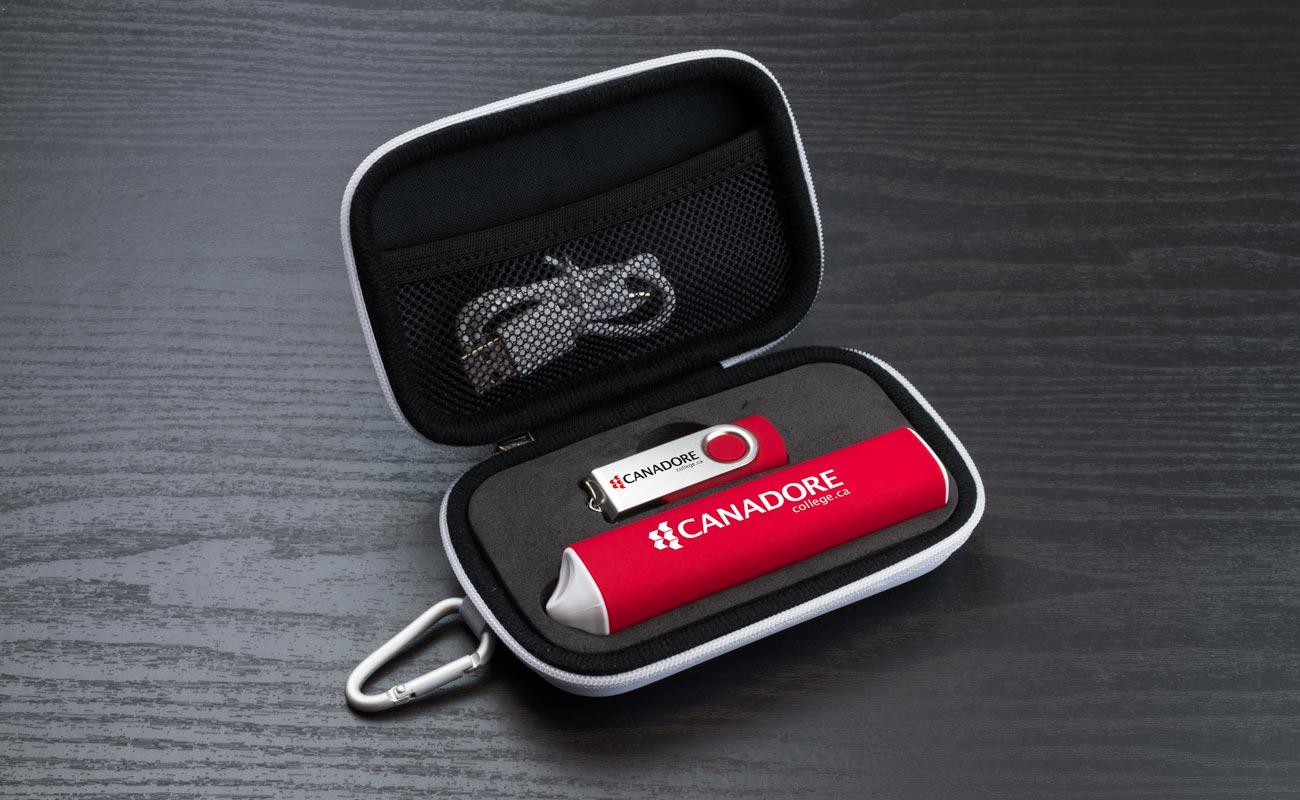 Pure S - Clé USB Personnalisée et Batterie Externe Personnalisée