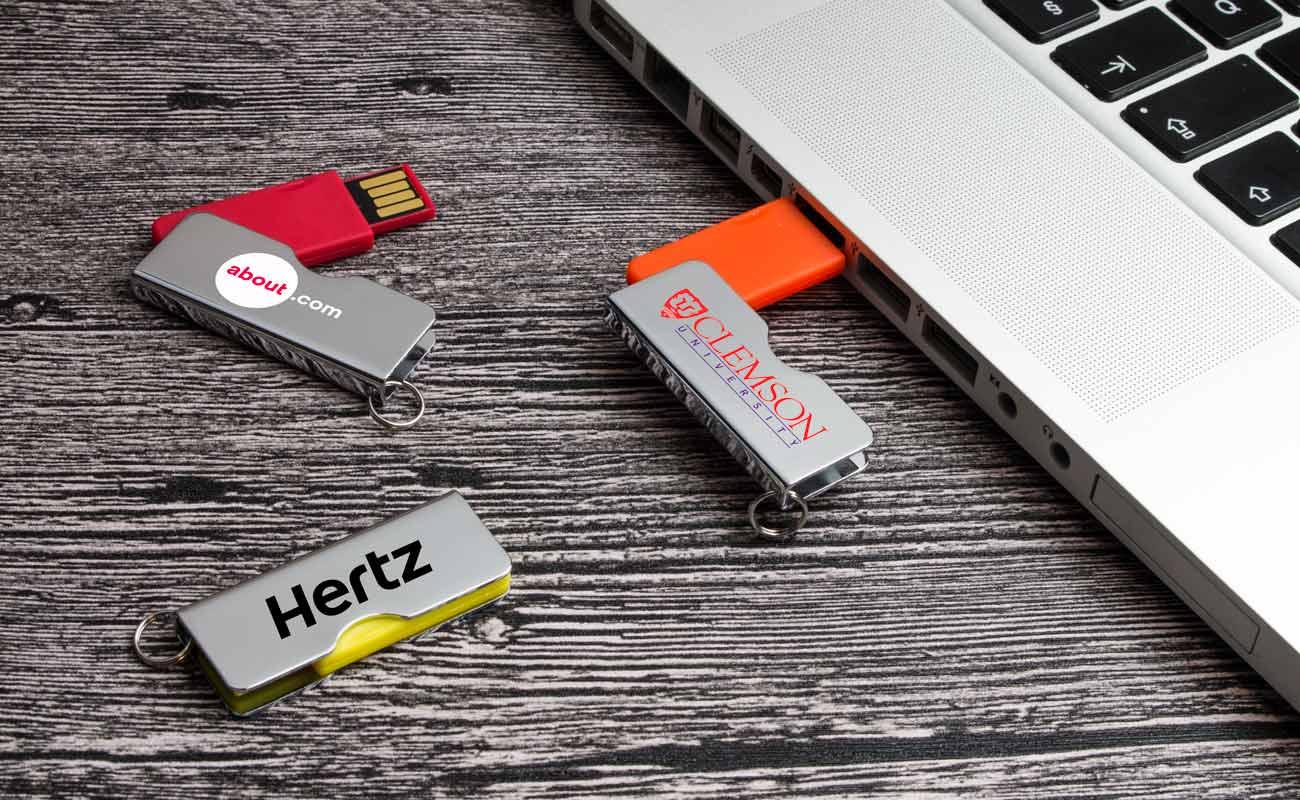 Rotator - Clé USB Personnalisée