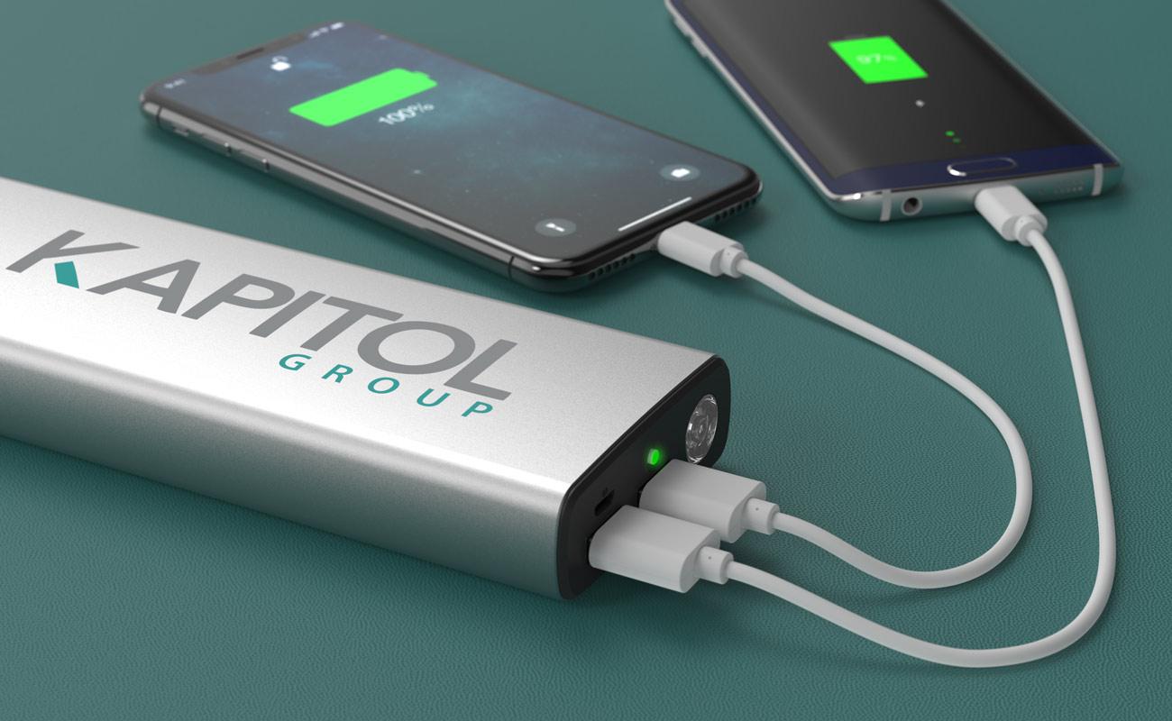Titan - Batterie Externe Personnalisée