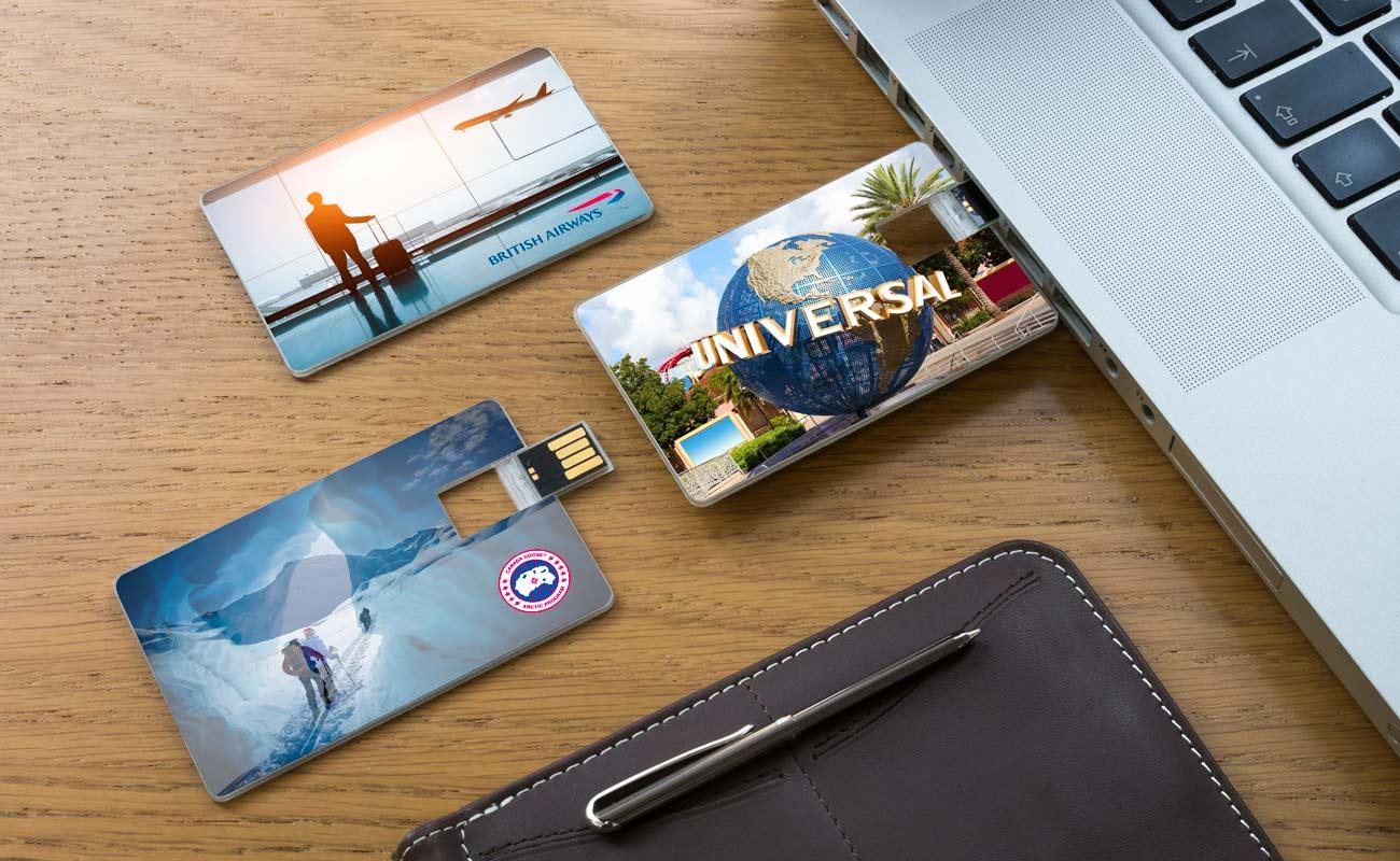 Wafer - Carte De Visite USB